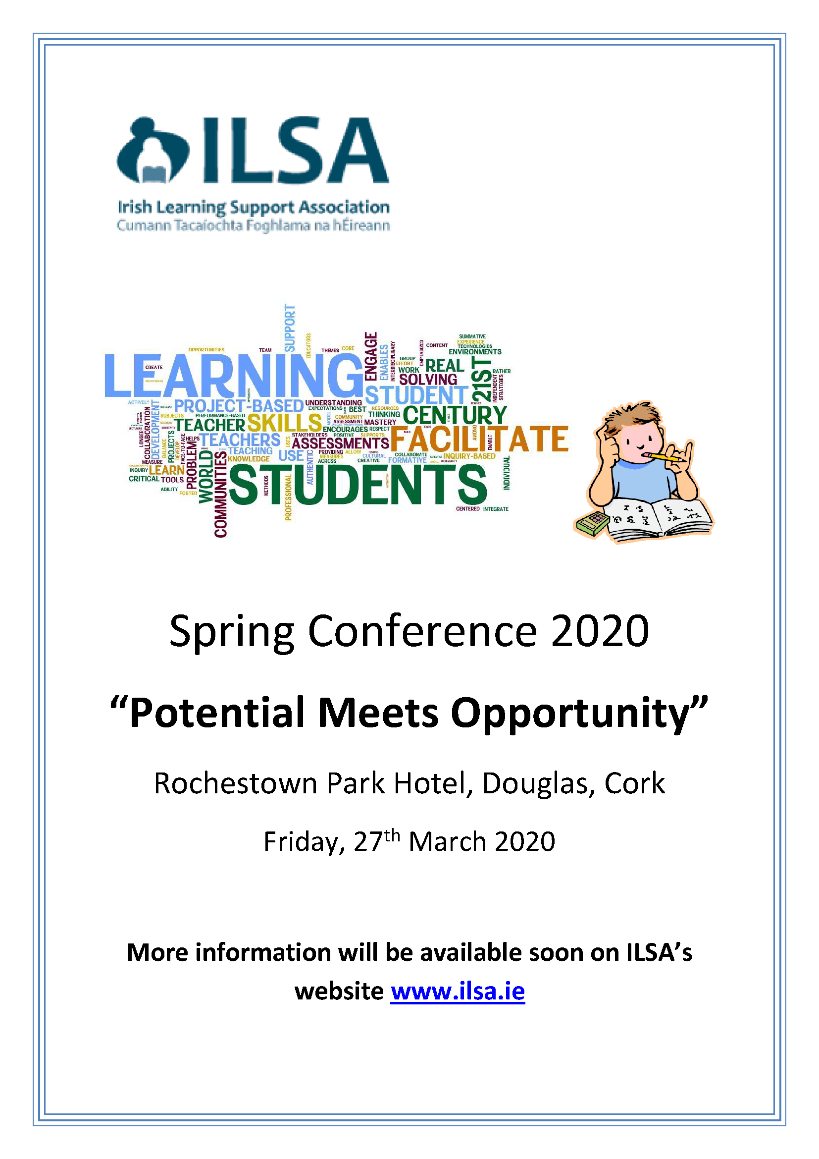 Poster for Spring Conference 2020